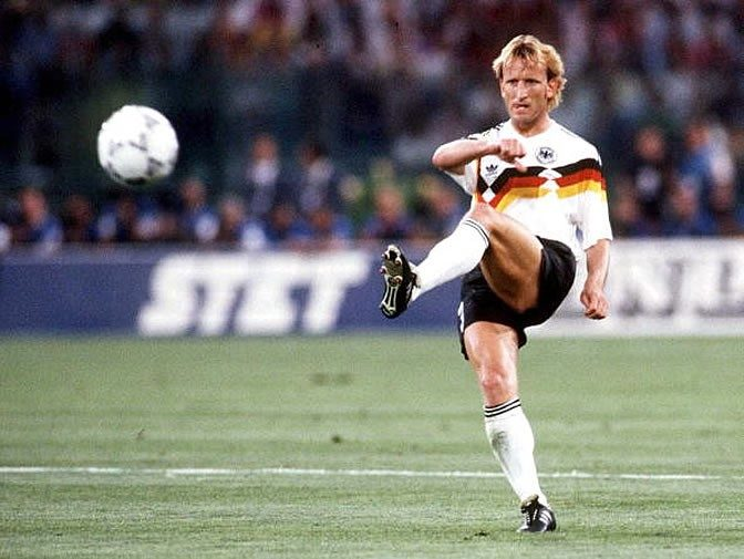 las fortunas de los futbolistas. Andreas Brehme arruinado