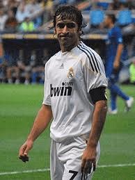 Raúl, ex delantero del Real Madrid