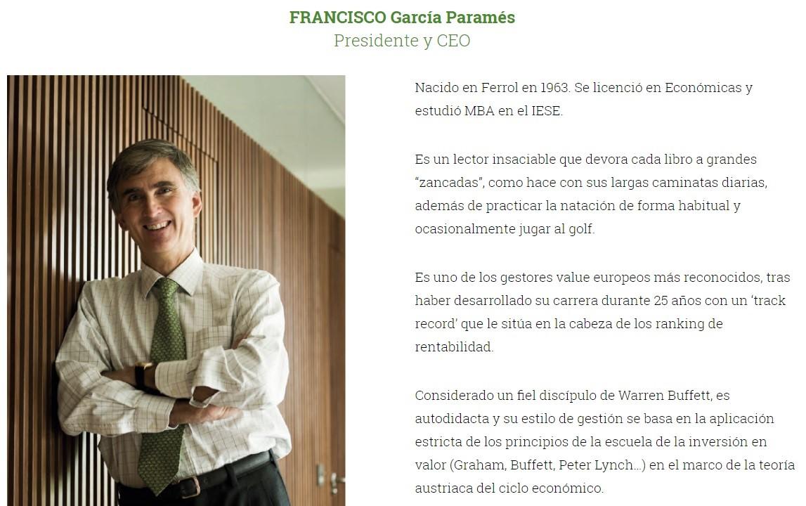 Francisco García Paramés. LA ROTACIÓN DE EXISTENCIAS DE ARYZTA