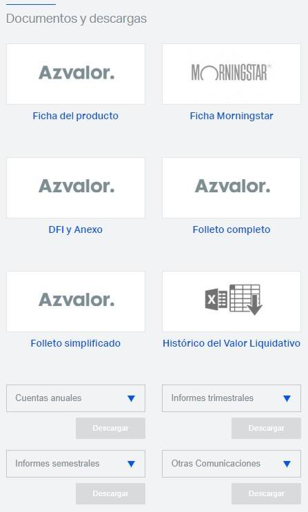 Azvalor en Morningstar. NO LO ENCONTRARÁ EN MORNINGSTAR LOS BENEFICIOS DE LAS SIIC
