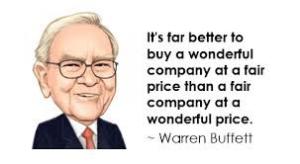 warren buffett Its far better...